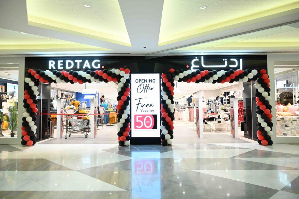 REDTAG launches new store at City Center Mall, Doha, Qatar