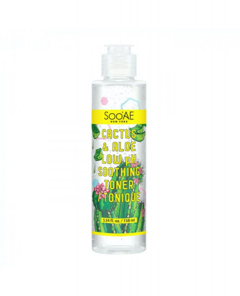 Cactus & Aloe Low PH Soothing Toner, AED 65.71
