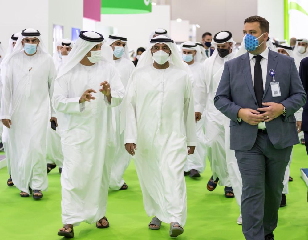 His Highness Sheikh Ahmed bin Saeed Al Maktoum opens Arab Health and Medlab Middle East 2021