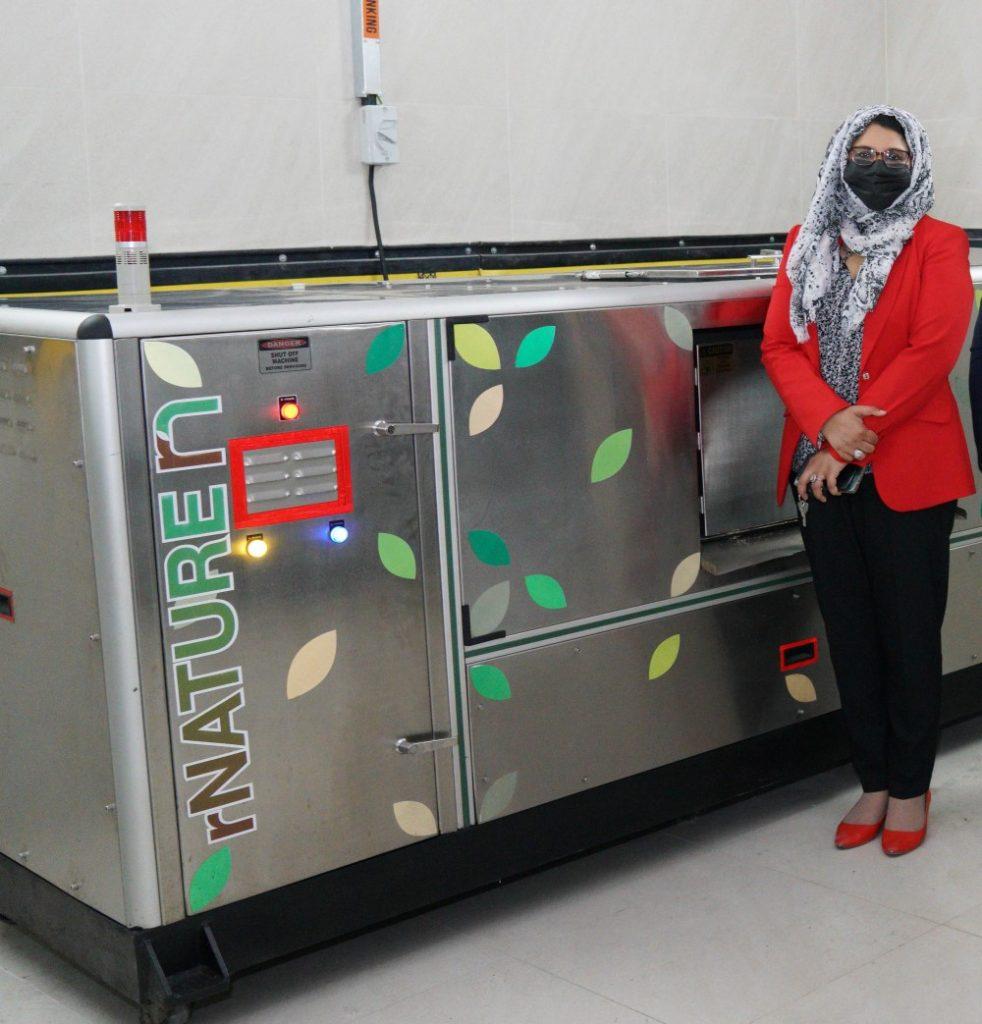 Farnek to compost 73 tonnes of staff food waste per annum