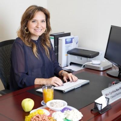 Cynthia Bou Khalil هي استشارية تغذية في Elipse من Allurion