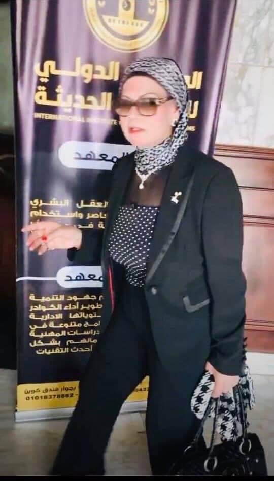 دكتورة سهير الغنام ضيفة مؤتمر منهجية المرأة في بناء الأوطان