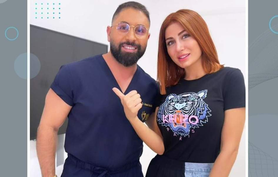 الدكتور أحمد مقلد يوضح أسباب زيارة هبا نور لعيادته التجميلية