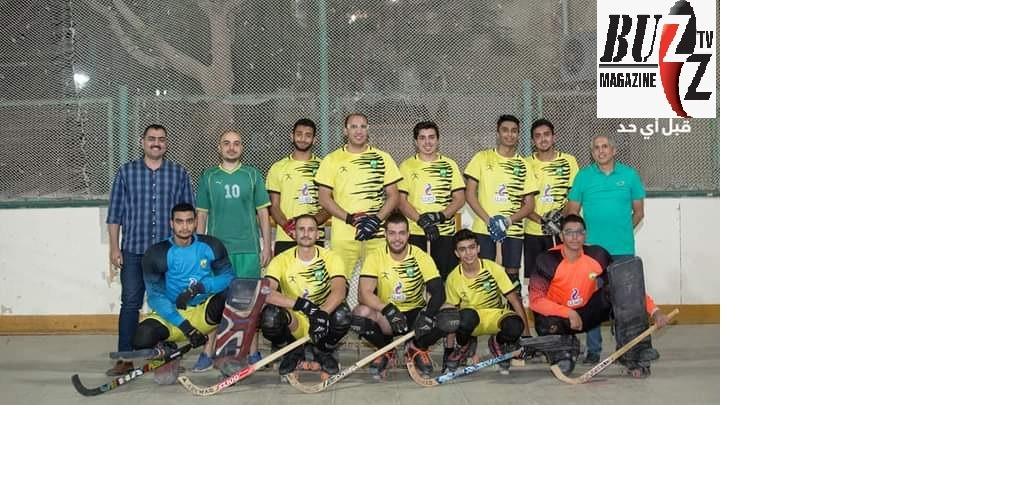فوز فريق الهوكي تحت ١٢سنه اولاد بالمركز الثالث في بطولة الدوري العام للهوكي