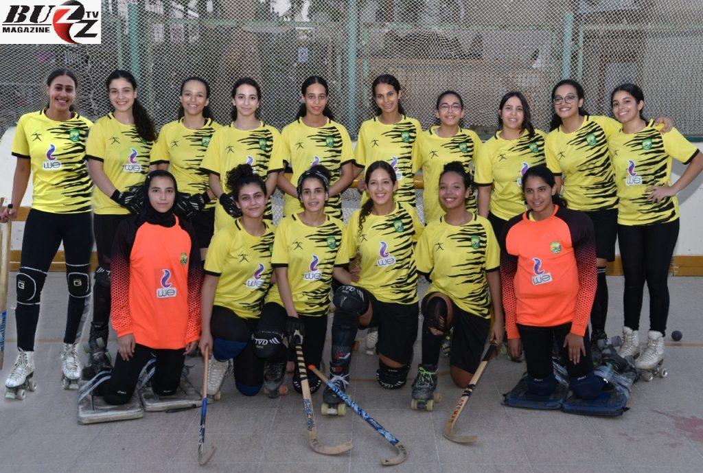 فوز فريق الهوكي عمومي رجال بالمركز الثاني في بطولة الدوري العام للهوكي