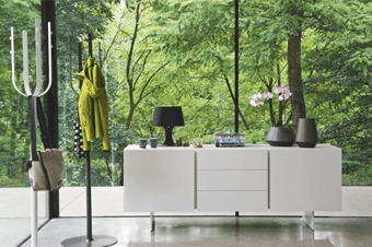 Calligaris' peripherals add stylistic accents to any room