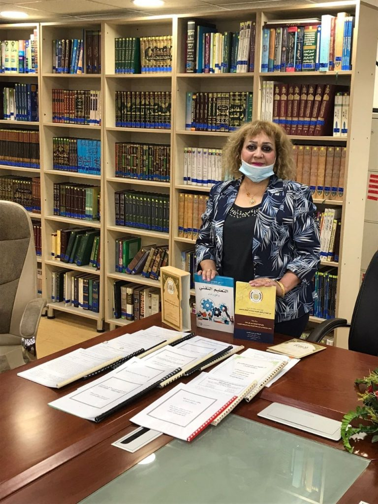 الاتحاد العربي للتنمية الاجتماعية يهدي مكتبة مجلس النواب العراقي 17 كتابا وبحثا من أبحاثها