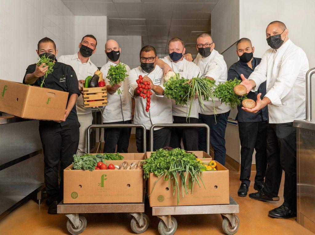 """هيلتون تحتفل باليوبيل الذهبي لدولة الإمارات بإطلاق قائمة طعام خاصة باسم """"نماء دولة الإمارات"""""""