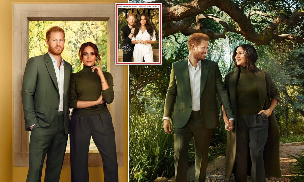 Prince Harry and Duchess Meghan Are Two of TIME's 100 Most Influential People