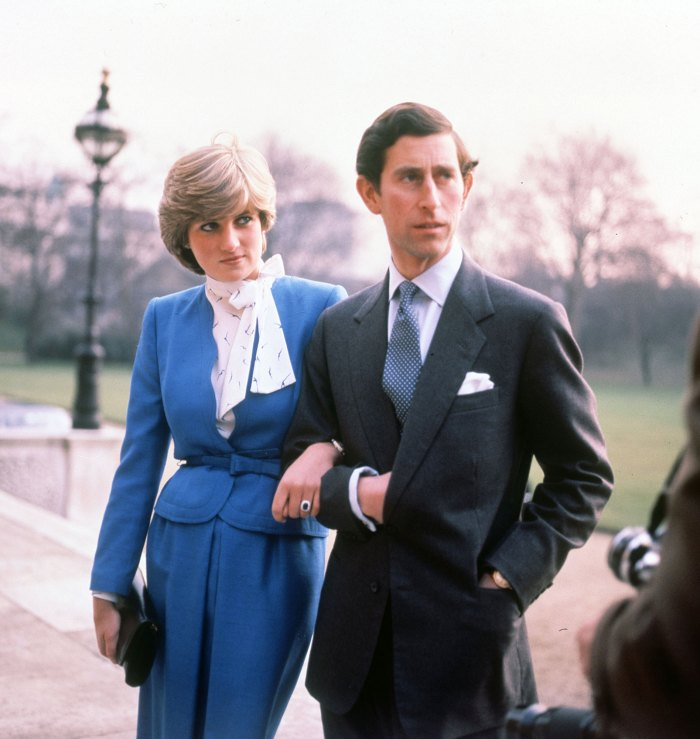The marriage of Princess Diana and Prince Charles