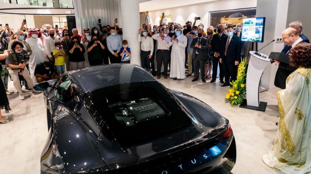 سيارة لوتس إميرا تُعرض لأول مرة في الشرق الأوسط خلال الافتتاح الرسمي لصالة لوتس الجديدة في البحرين