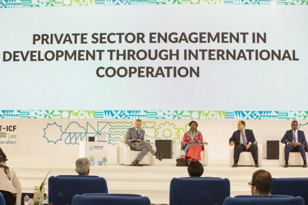 منتدى مصر للتعاون الدولي والتمويل الإنمائي يبحث تحفيز القطاع الخاص من خلال الشراكات الدولية