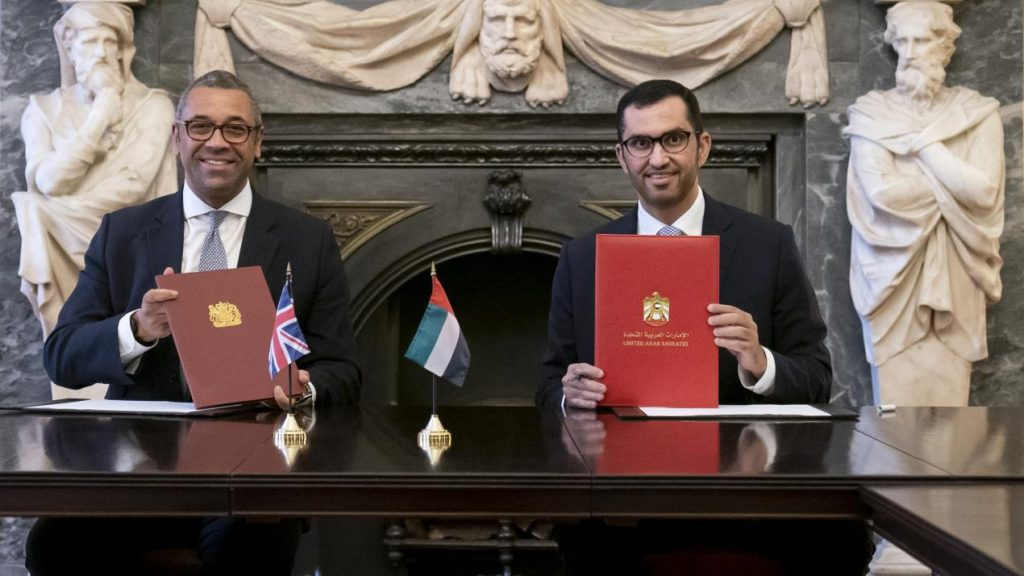 UAE and UK to strengthen cooperation on Climate Action and Environment