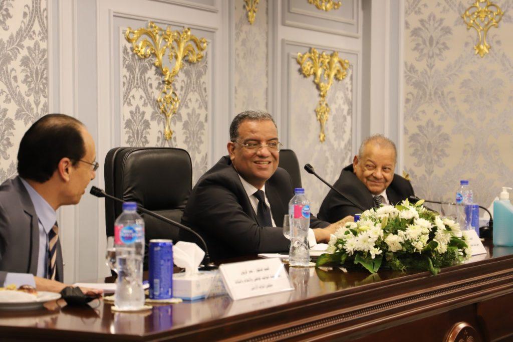 ثقافه الشيوخ تستقبل لجنه التوجيه الوطني والإعلام والثقافه بالبرلمان الأردني