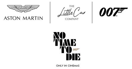 شركات ذا ليتل كار وأستون مارتن وأيون للإنتاج تتعاون لإنتاج إصدار لا وقت للموت الخاص من سيارة أستون مارتن دي بي 5 جونيور
