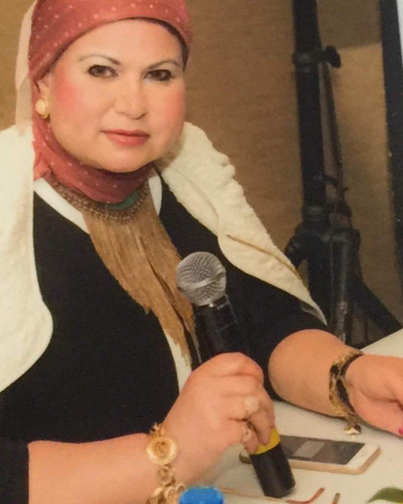 (تكريم الشريفة الأديبة الشاعرة دكتورة سهير الغنام في المؤتمر الدولي للآمن السيبراني ووقاية الأوطان