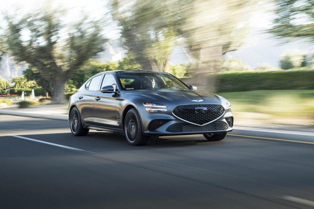 سيارتا جينيسيس  G70 وGV70 تحصدان لقب أفضل اختيار للسلامة بلس   TSP+ تكمل العلامة الشهيرة مجموعتها لعام  2022 كأفضل اختيار للسلامة من معهد التأمين للسلامة على الطرق السريعة