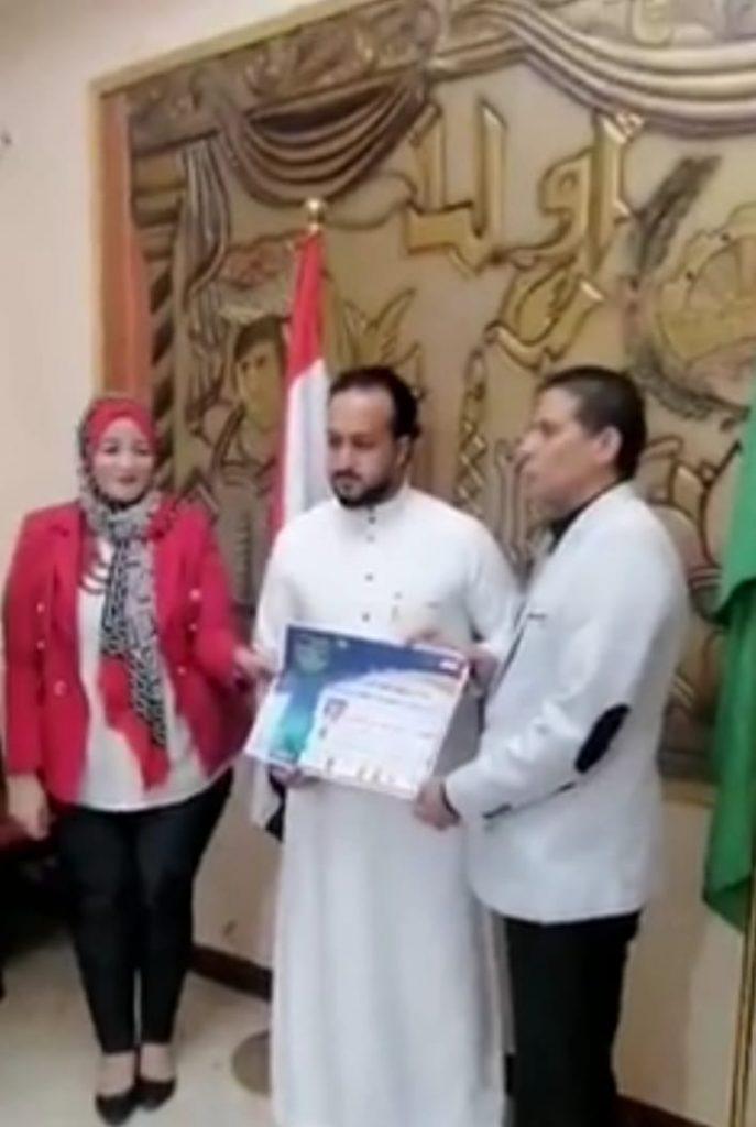 أول ممثل ومخرج سعودي يكرم من دار الأوبرا المصرية بالدكتوراه الفخريه