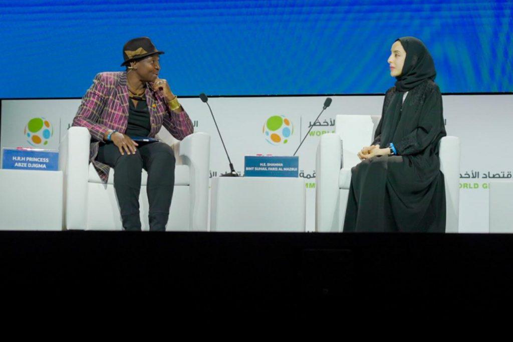 في حوار مع وزيرة الدولة لشؤون الشباب على أرض إكسبو 2020 دبي