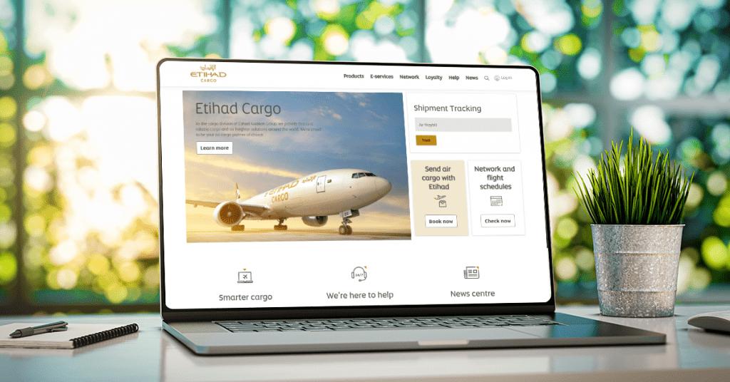 الاتحاد للشحن تعزز حضورها الرقمي من خلال تجديد موقعها الإلكتروني