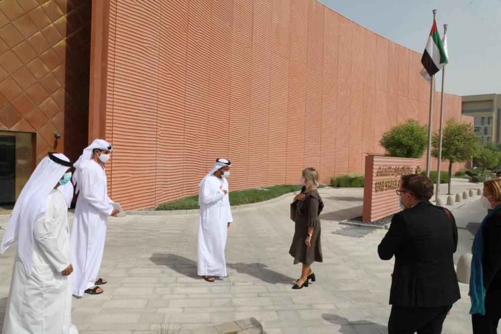 UAE Space Agency welcomes Finnish delegation