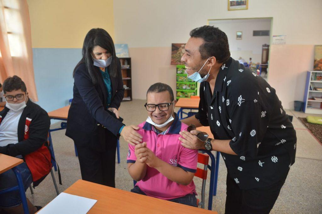 اختيار الفنان زكرياء الغفولي عرابا لمركز دعم تمدرس الأطفال في وضعية إعاقة ذهنية
