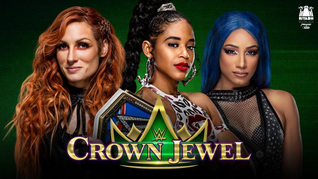 مواجهة ثلاثية تقرر لقب WWE سماك داون للسيدات في WWE كراون جول