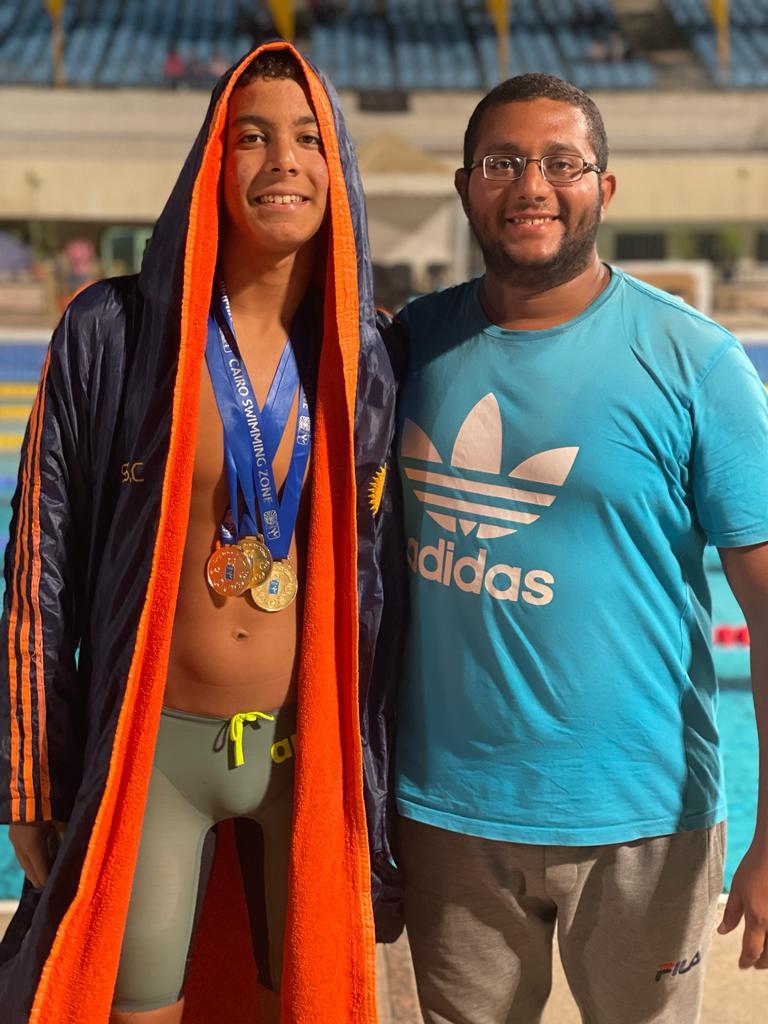 يستعد فريق البراعم للسباحة بالنادى الغابة بقيادة محمد عصام مدرب الفريق 2013 لخوض منافسات بطولة لسباحة